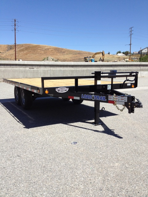 LOAD TRAIL 102X16′ HEAVY DUTY DECK OVER TRAILER FOR SALE