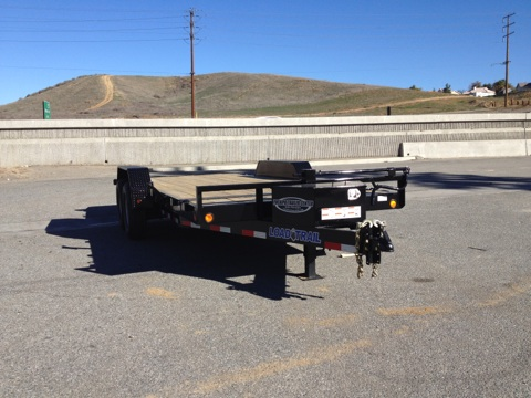 LOAD TRAIL 81.5X18′ HYDRAULIC TILT BED TRAILER FOR SALE