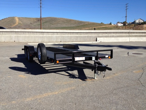 LOAD TRAIL 83X20′ OPEN BELLY CAR TRAILER FOR SALE