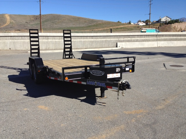 LOAD TRAIL 83X16′ HEAVY DUTY SKID STEER TRAILER FOR SALE