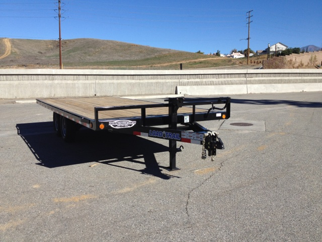 LOAD TRAIL 102X20′ DECK OVER TRAILER FOR SALE