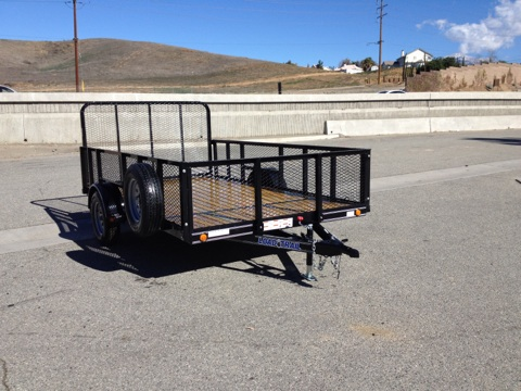 LOAD TRAIL 83X12′ OPEN UTILITY LANDSCAPE TRAILER FOR SALE