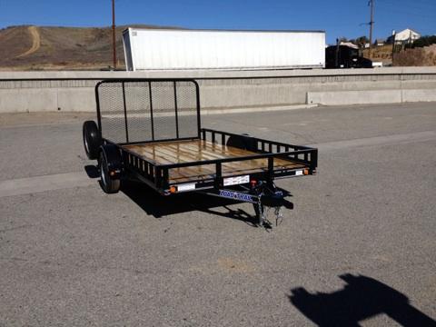 LOAD TRAIL 83X14′ ATV/UTV SIDE LOAD REAR LOAD HAULING TRAILER FOR SALE