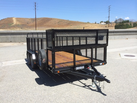 LOAD TRAIL 83X16′ OPEN LAND SCAPE TRAILER FOR SALE