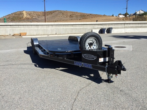 LOAD TRAIL'S NEW 83X20′ STEEL DECK CAR HAULER FOR SALE