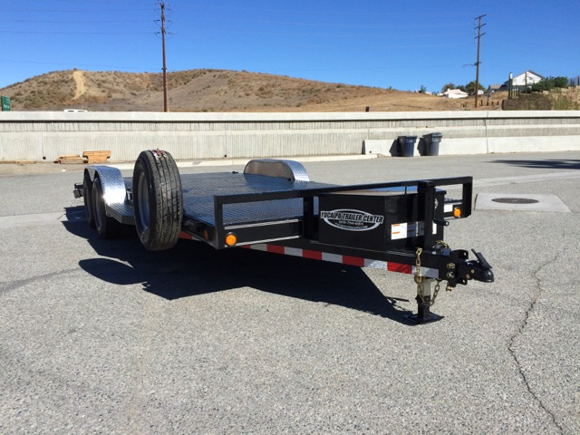 LOAD TRAIL 83X20′ STEEL DECK HEAVY DUTY STEEL DECK CAR TRAILER FOR SALE