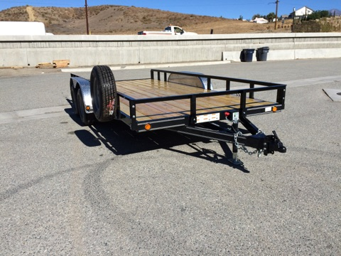 LOAD TRAIL 83X16′ OPEN UTILITY TRAILER FOR SALE