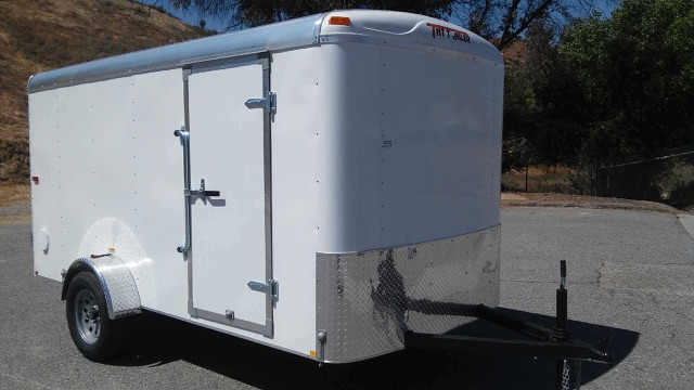 TNT TRAILERS TRA6X12SA SINGLE AXLE ENCLOSED TRAILER FOR SALE