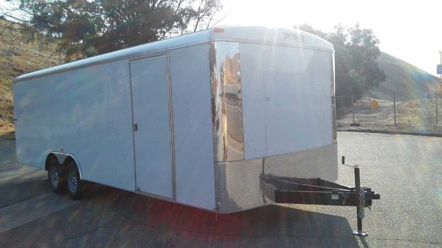TNT TRAILERS TRA8.5X24TA3 ENCLOSED SHOW CAR HAULER FOR SALE