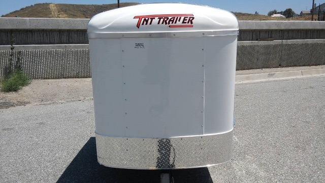 TNT TRAILERS TRANSIT TRA4X6SA SINGLE AXLE ENCLOSED CARGO TRAILER FOR SALE