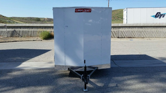 TNT TRAILER TCC6X10SA2 SINGLE AXLE CARGO CRAFT BOX TRAILER FOR SALE