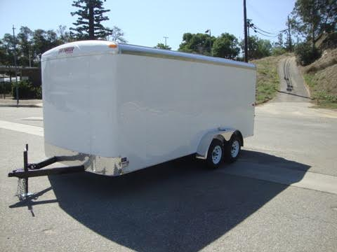 TNT TOTE TOT7X16TA2 TANDEM AXLE ENTRY CARGO TRAILER FOR SALE
