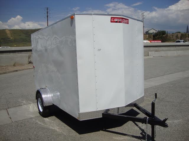 TNT CARGO CRAFT TRAILER TCC6X10SA SINGLE AXLE TRAILER WITH A RAMP FOR SALE