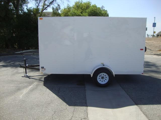 TNT CARGO CRAFT TCC6X12SA ENTRY LEVEL BOX TRAILER WITH DOUBLE REAR DOORS