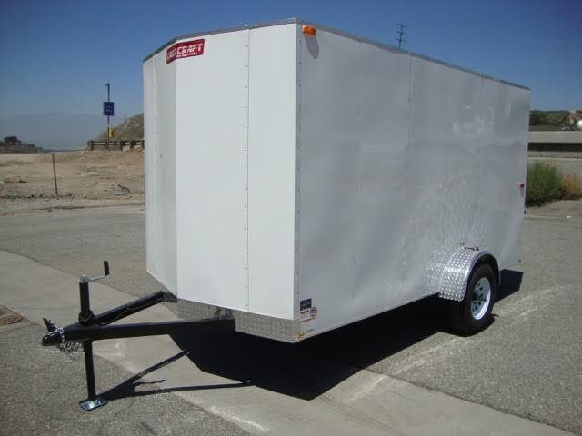 TNT CARGO CRAFT TCC6X12SA ENTRY LEVEL ENCLOSED MOTORCYCYCLE TRAILER FOR SALE