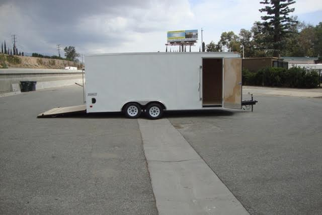 HAULMARK PASSPORT PPT8.5X20WT3 TANDEM AXLE CAR TRAILER FOR SALE WITH A VNOSE